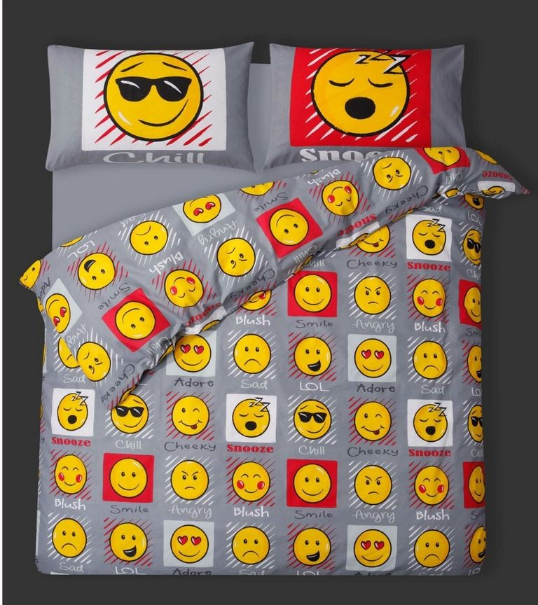 Emoji Themed Bedroom