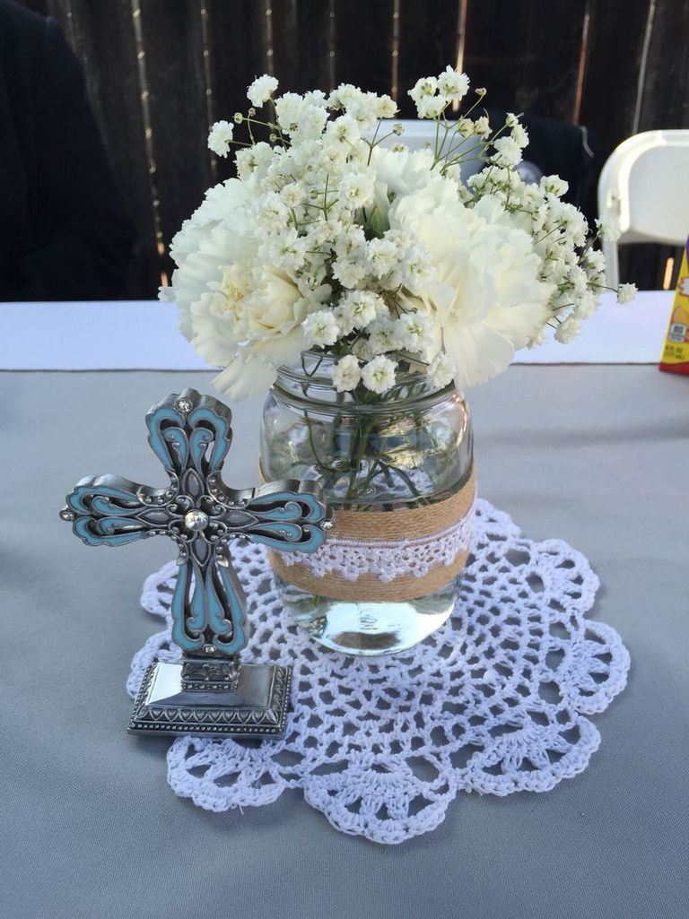 First Communion Centerpieces Ideas