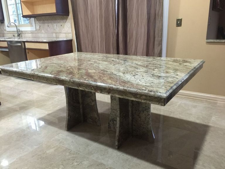 Granite Table Base Ideas