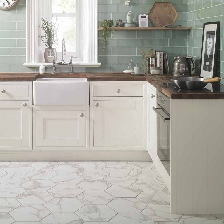 Hexagon Kitchen Tiles