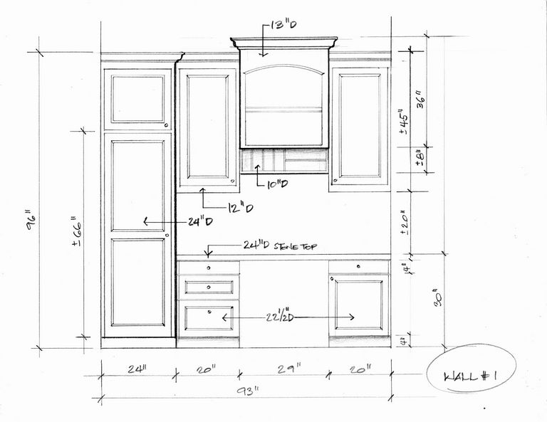 How To Measure Linear Feet For Cabinets
