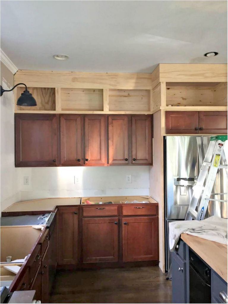Kitchen Cabinets With Glass Doors On Top