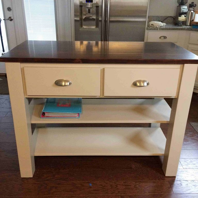 Kitchen Island Plans Free