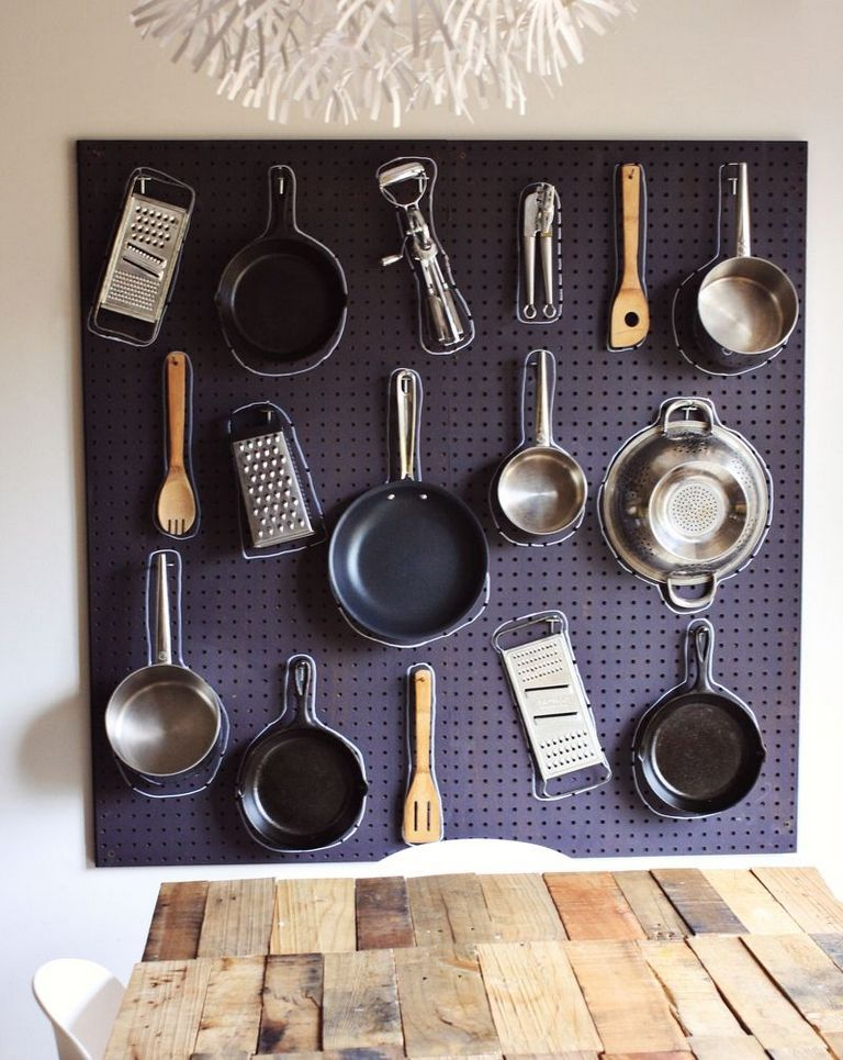 Kitchen Pegboard