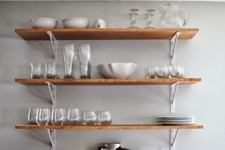 Kitchen Wall Shelving Ideas