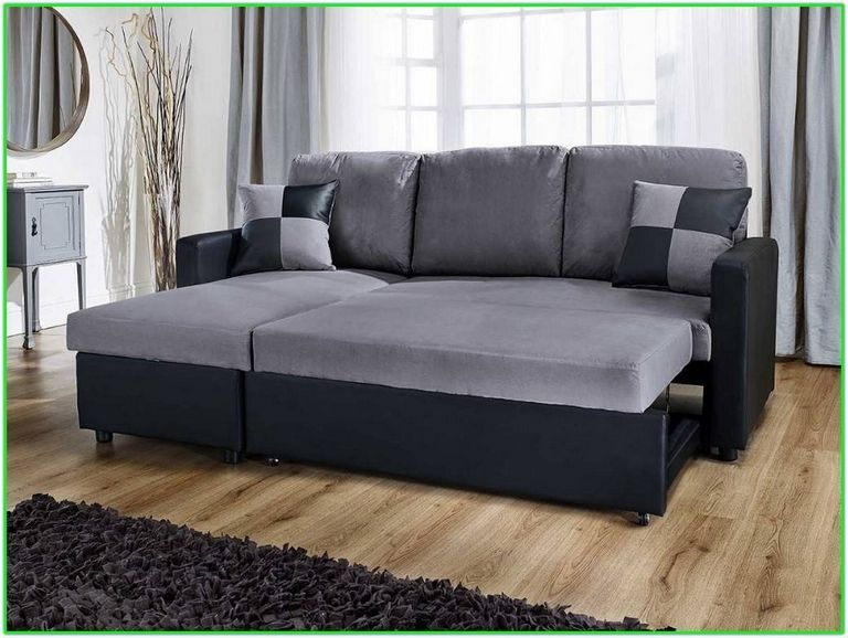 L Shaped Couch Bed