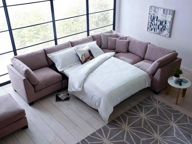 L Shaped Sleeper Sofa