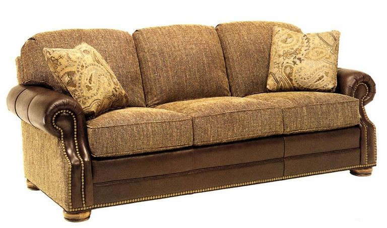 Leather And Fabric Sofas