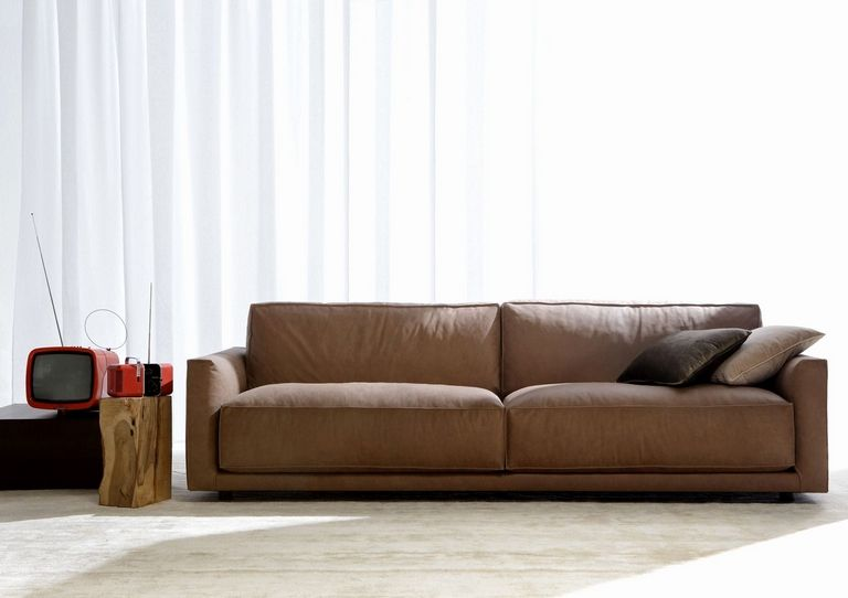 Leather Contemporary Sofas