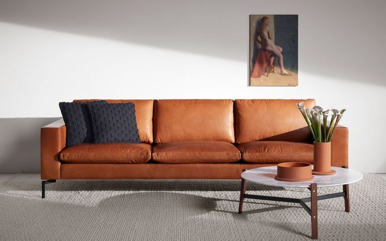 Leather Sofa Modern