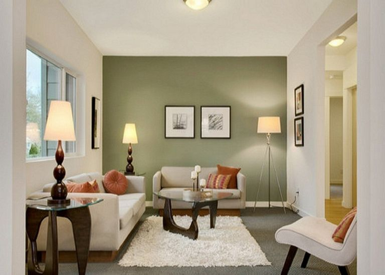 Living Room Paint Ideas With Accent Wall