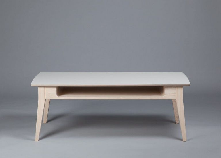 Low Wooden Coffee Table