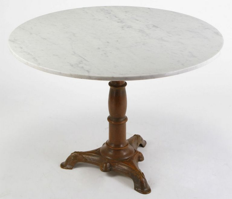 Marble Circle Table