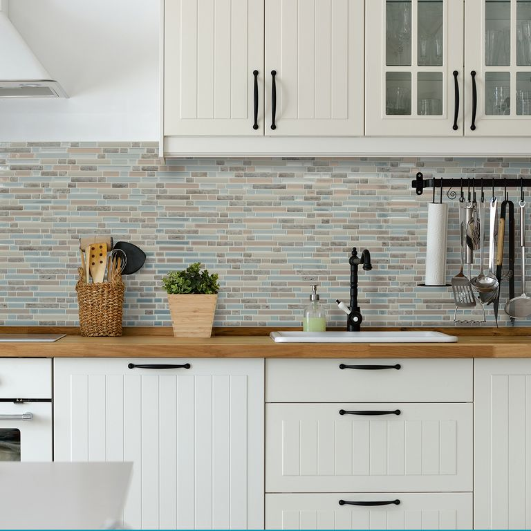 Menards Peel And Stick Backsplash