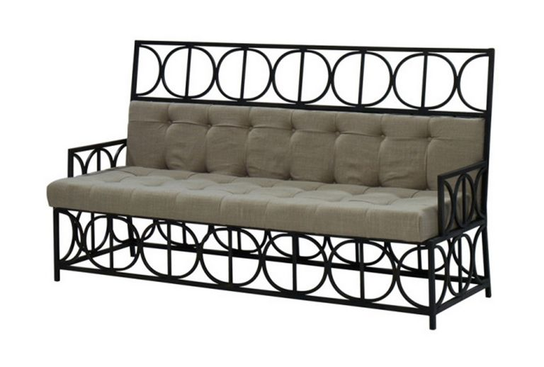 Metal Frame Sofa