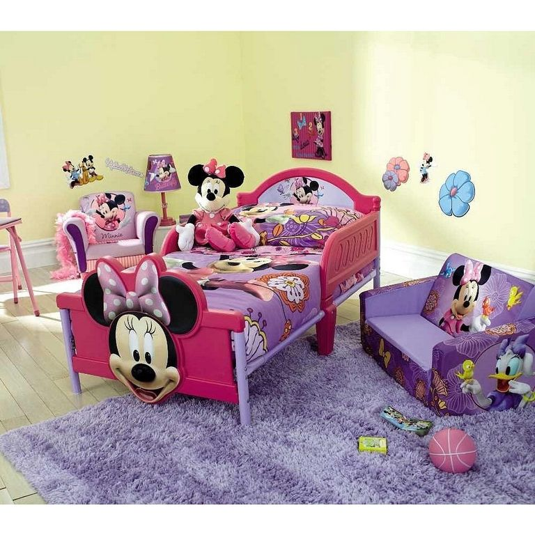 Minnie Mouse Rug Bedroom