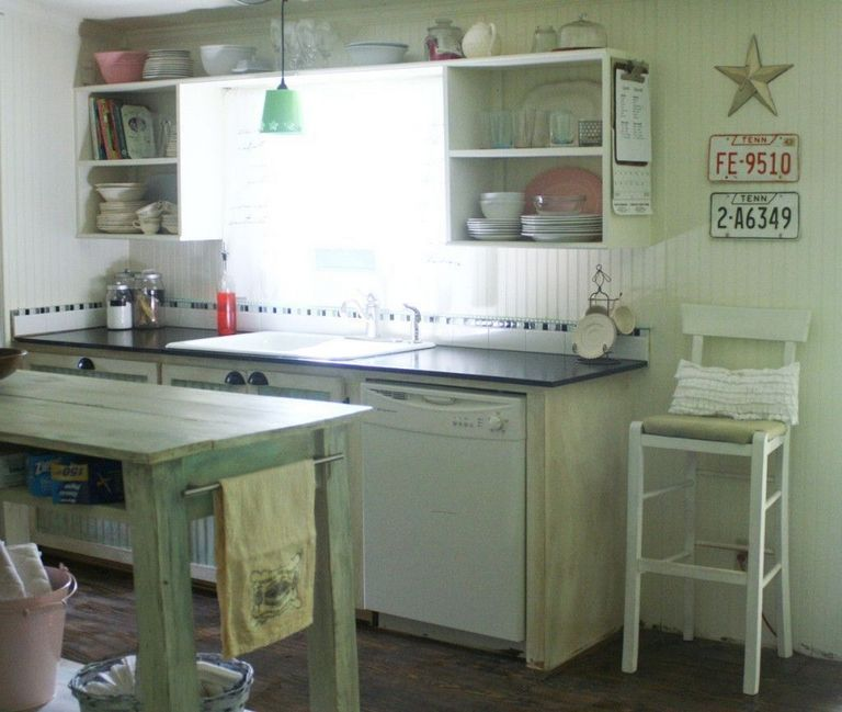 Mobile Home Kitchen Makeover