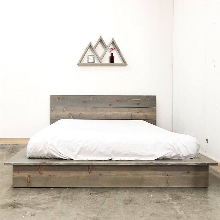 Modern Low Bed Frame
