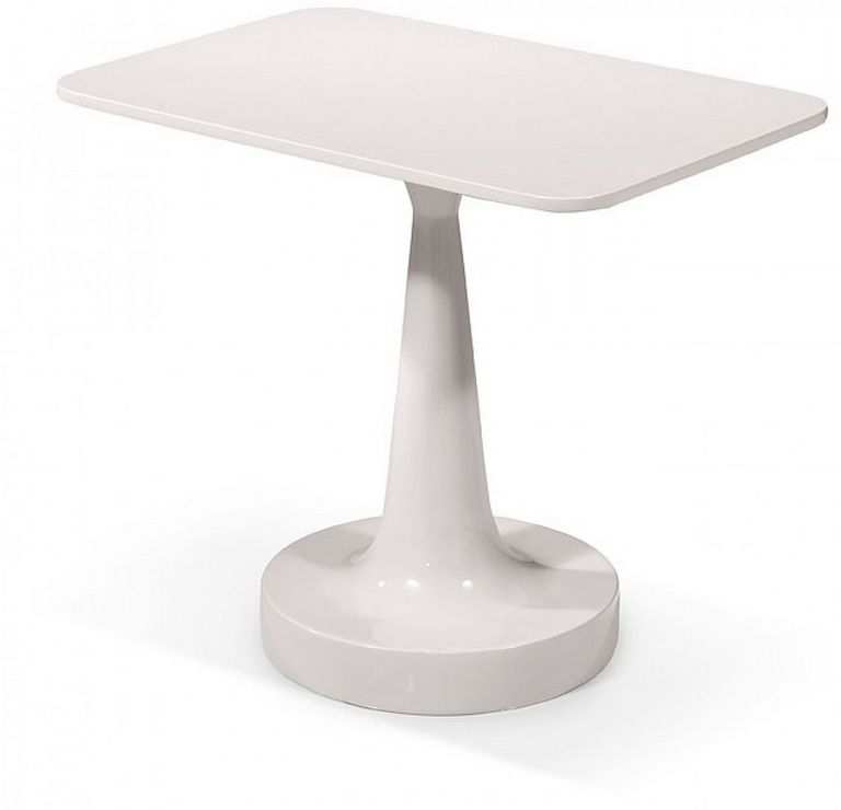 Modern White End Tables