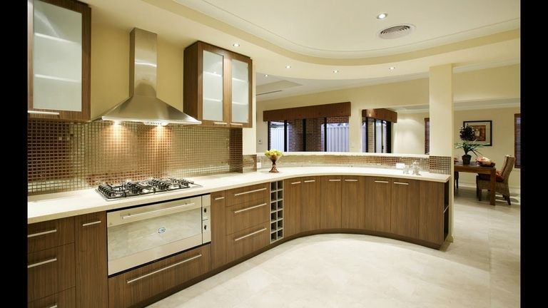 Modern Wooden Kitchen Design