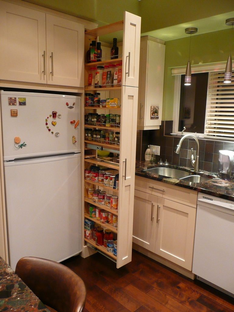 Narrow Kitchen Pantry