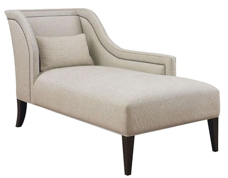 One Arm Chaise Lounge