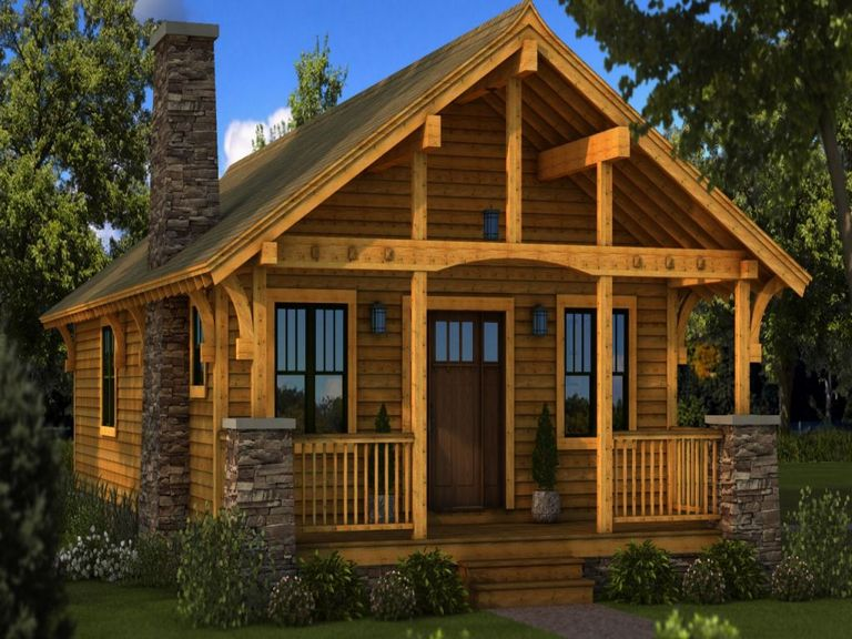 Open Concept Post And Beam House Plans