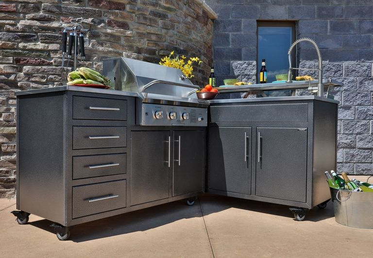 Outdoor Kitchen Modular Units