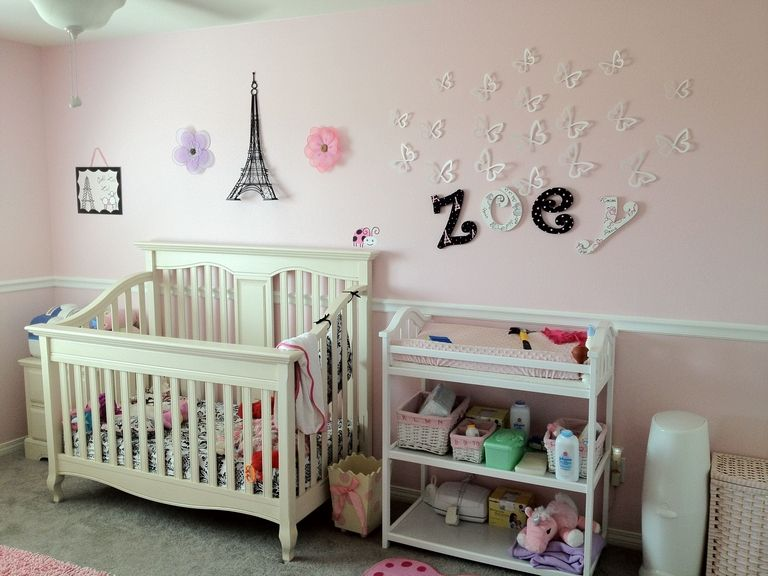 Paris Themed Nursery