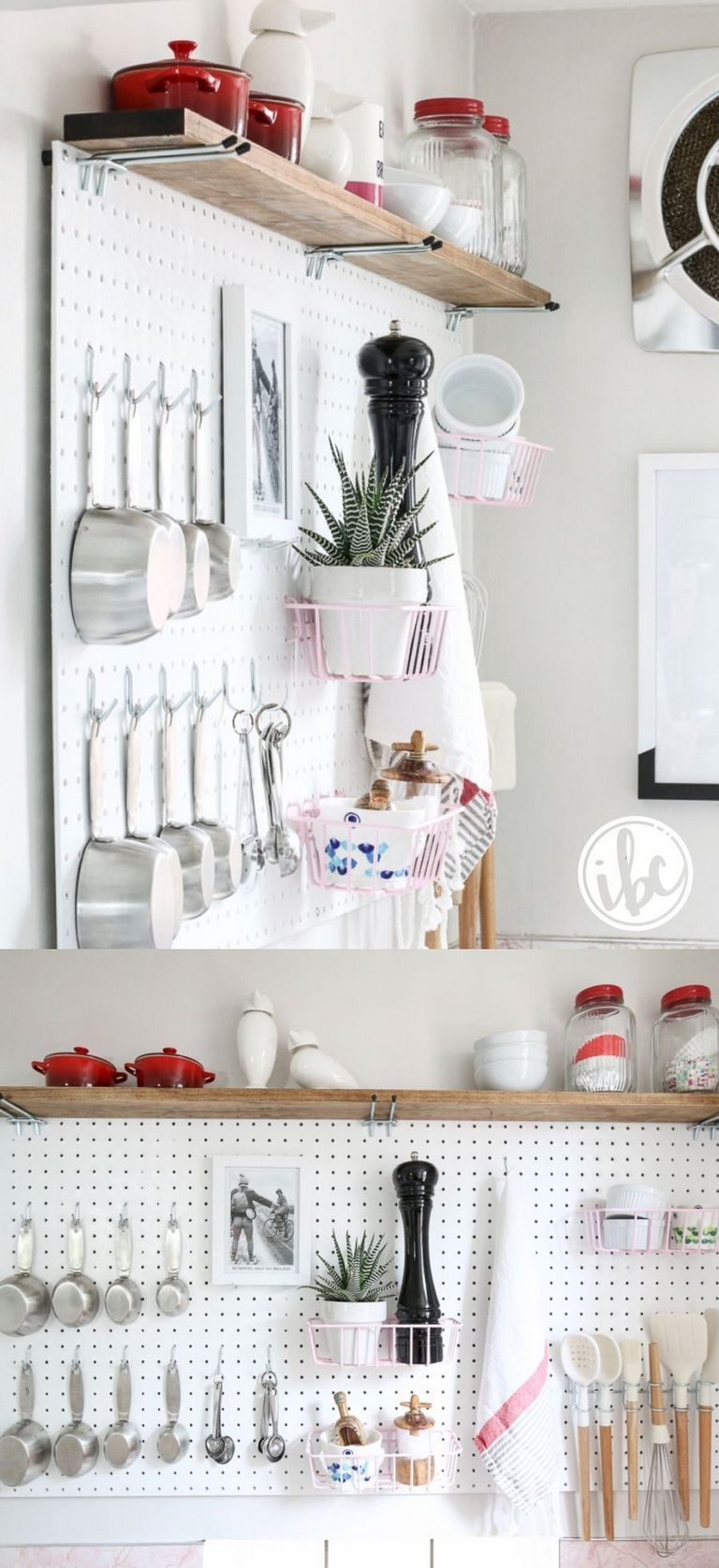 Pegboard Kitchen Ideas