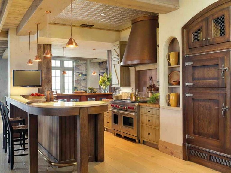 Pictures Of Rustic Kitchens