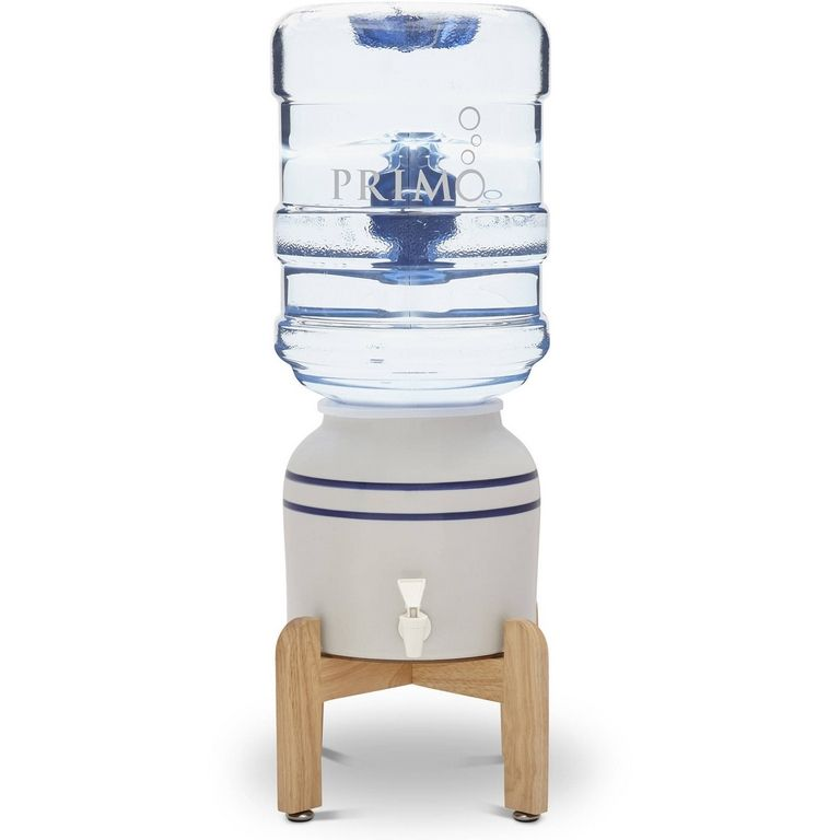 Primo Ceramic Crock Water Dispenser With Stand