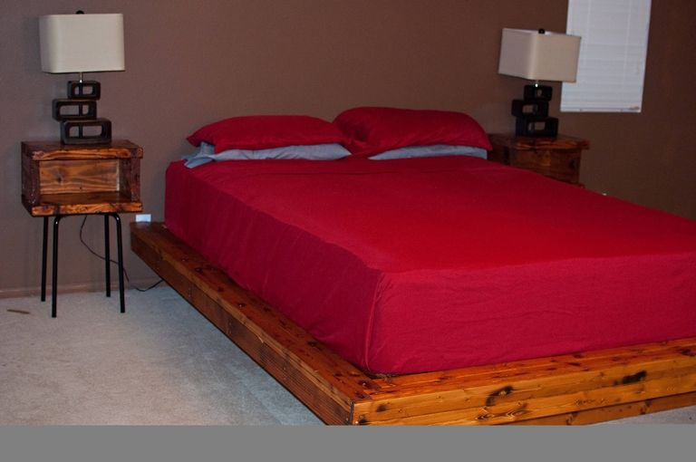 Queen Bed Dims