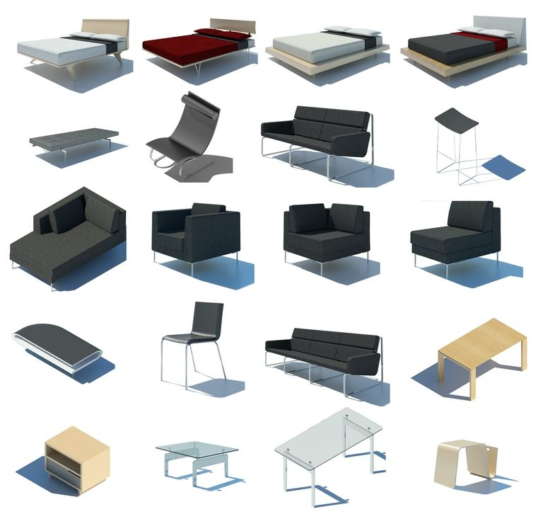 Revit Furniture Downloads