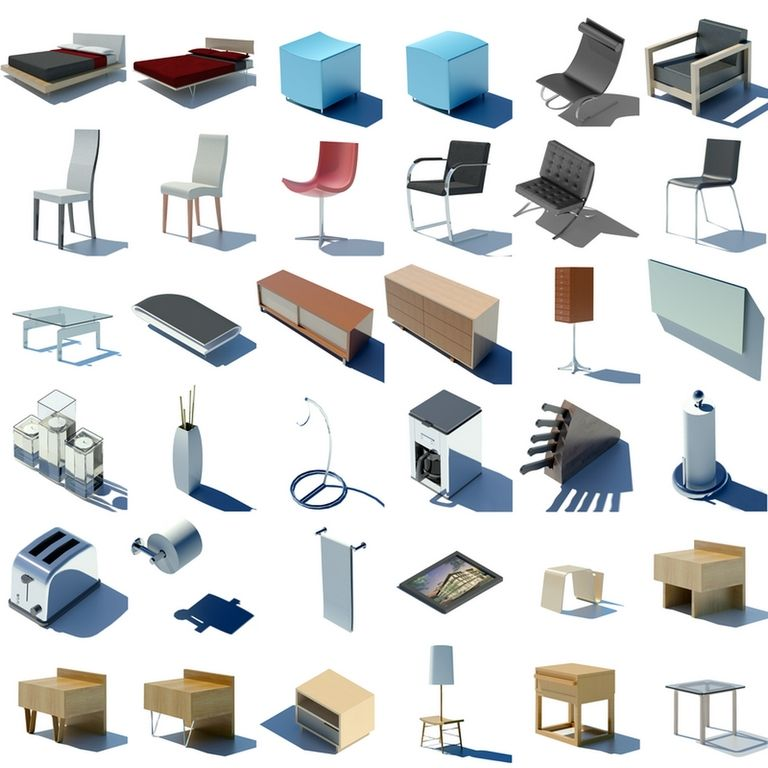 Revit Furnitures