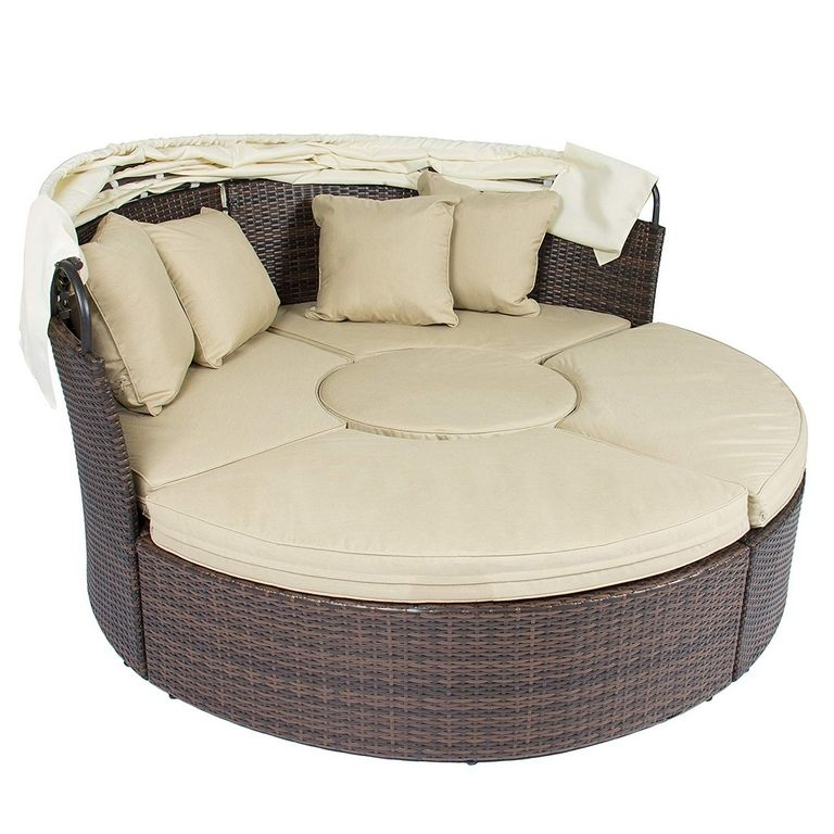 Round Outdoor Sofa
