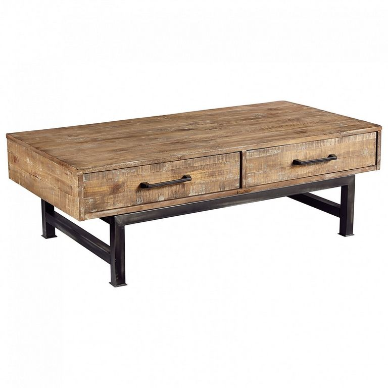 Small Industrial Coffee Table
