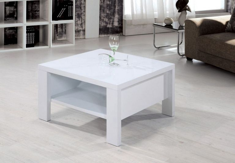 Small White Coffee Table