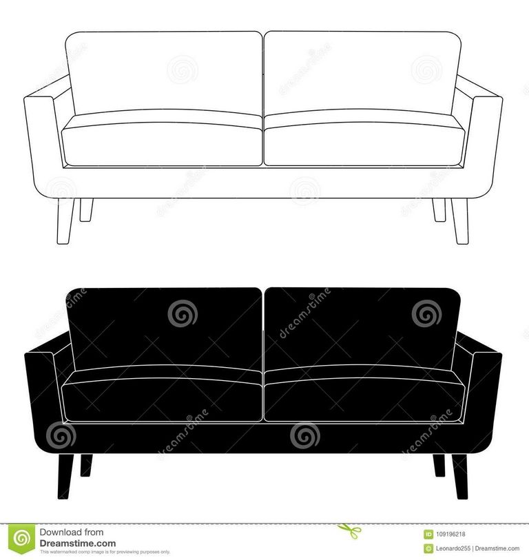Sofa Drawing