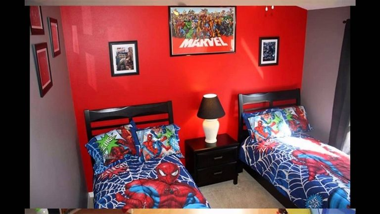 Spiderman Bedroom Ideas