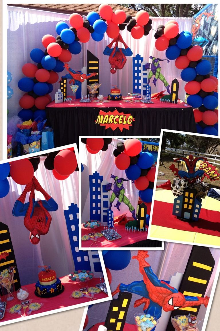 Spiderman Decoration Ideas