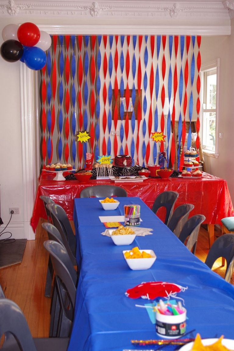 Spiderman Party Ideas & Decor