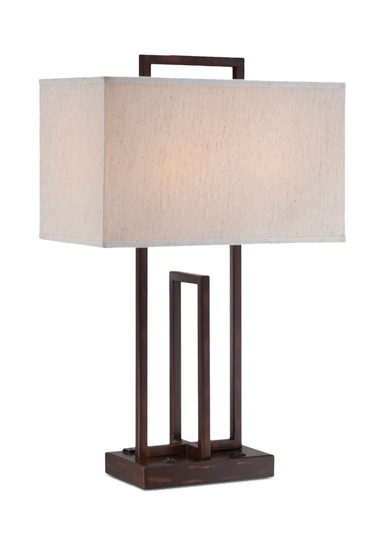 Table Lamp With Outlets