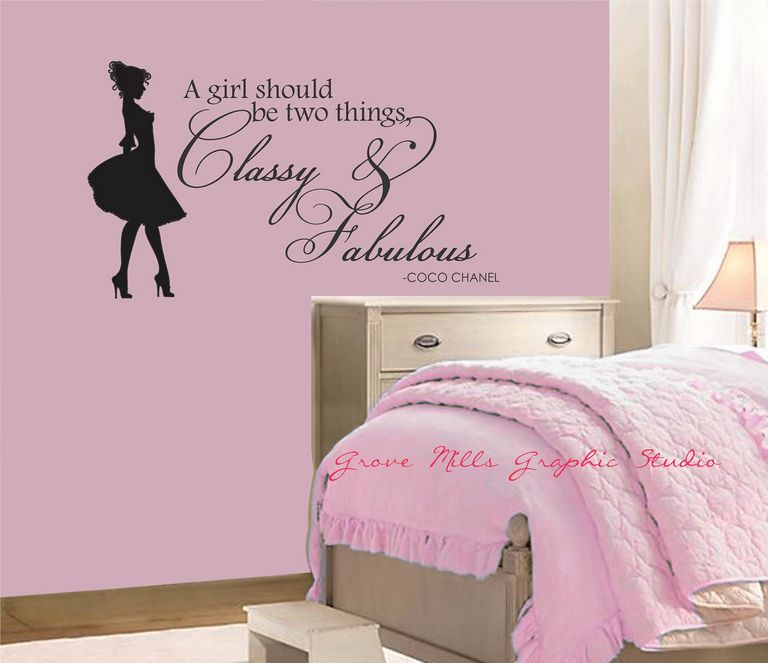 Teenage Girl Wall Decals