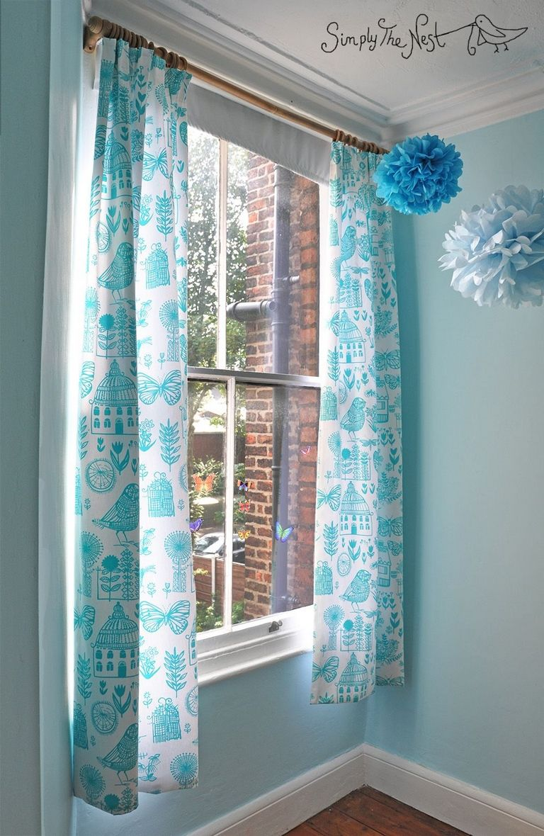 Turquoise Bedroom Curtains