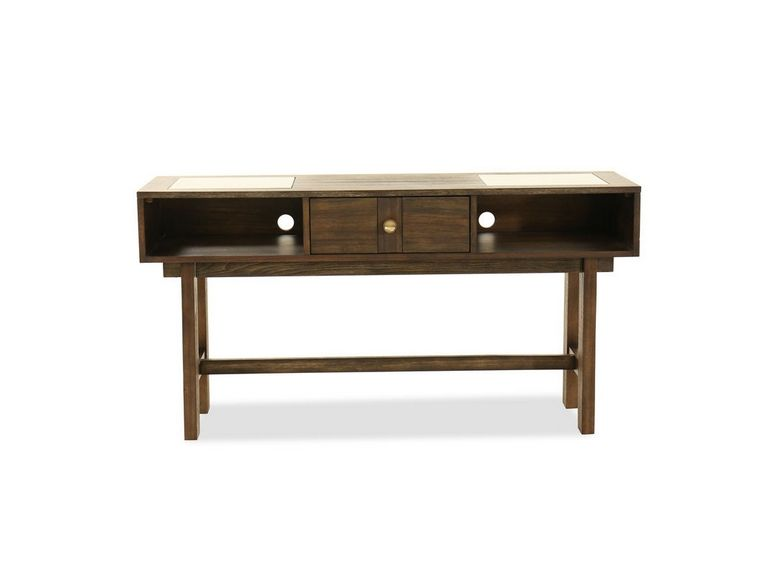 Two Shelf Console Table