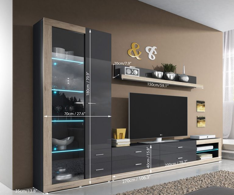 Wall Unit Storage