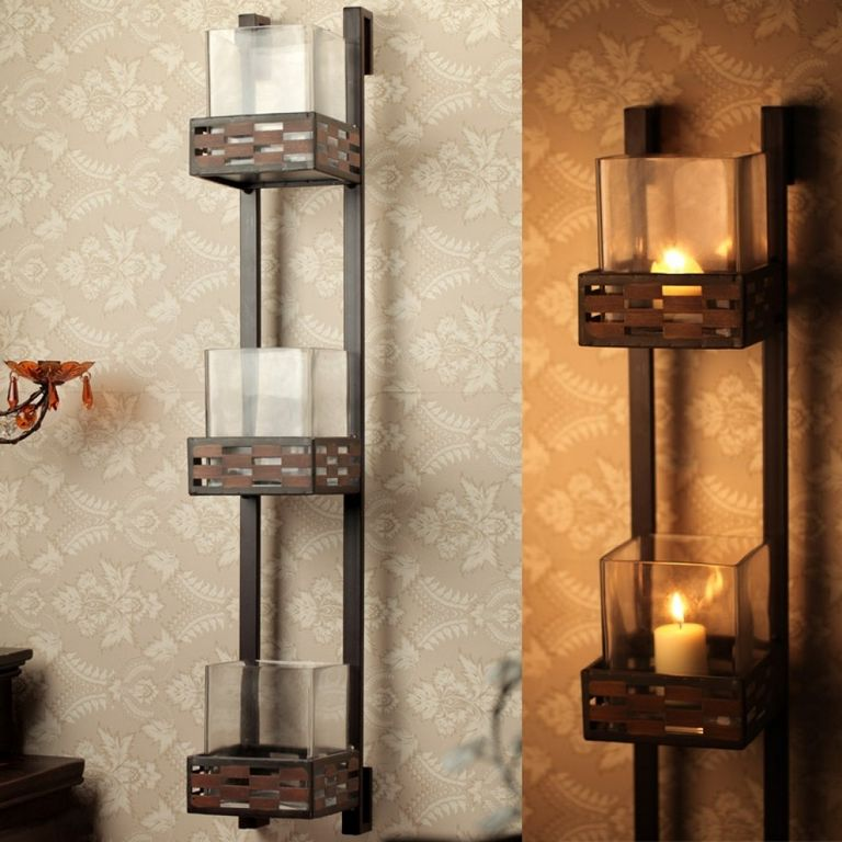 Wall Votive Candle Holders