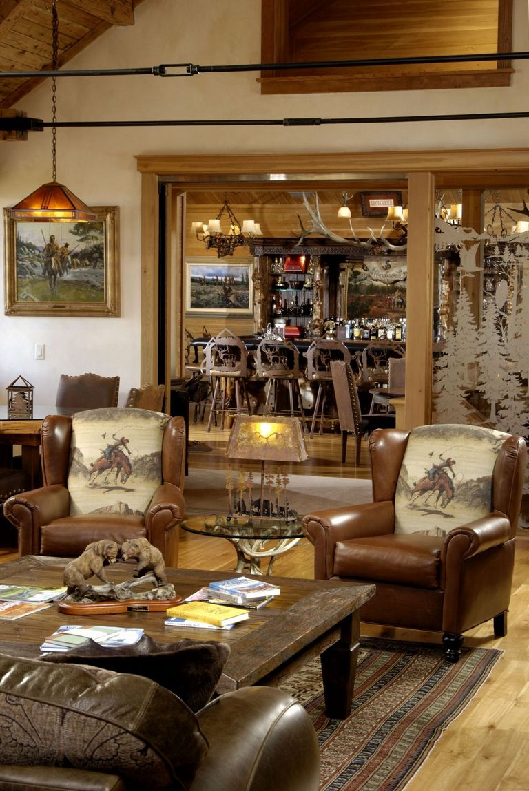 Western Living Room Ideas