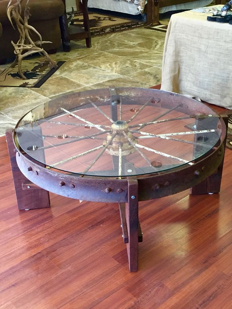 Wheel Coffee Tables